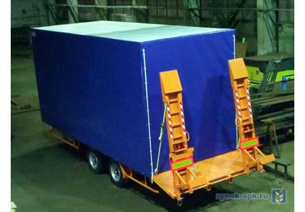 4ee02cf28d111 ... Низкорамный прицеп для перевозки строительной техники до 8 тонн ...